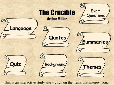 themes the crucible act 3 crucible themes and quotes quotesgram