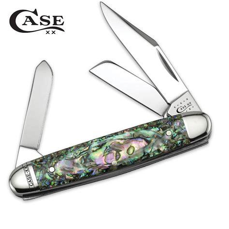 abalone knife abalone medium stockman folding knife budk