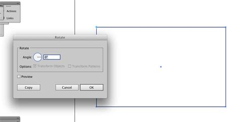 illustrator tutorial rotate tool cs6 how to access the rotate by angle functionality of