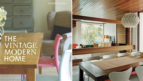 book corner the vintage modern home design trend