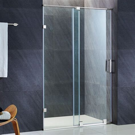 vigo ryland 48 in x 71 5 in semi framed sliding shower