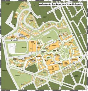 sfsu map san francisco state image gallery at weblo