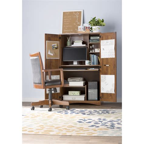 alcott hill computer desk alcott hill englewood desk armoire reviews wayfair