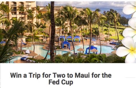 Sweepstakes Hawaii - hawaii maui fed cup sweepstakes sun sweeps