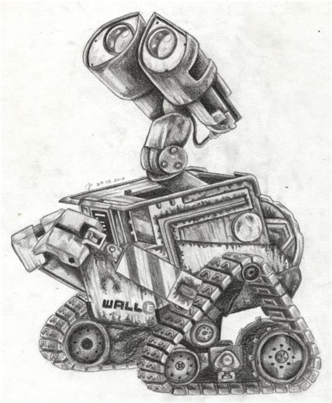 Wall E Sketches by Wall E By Cri Kee On Deviantart
