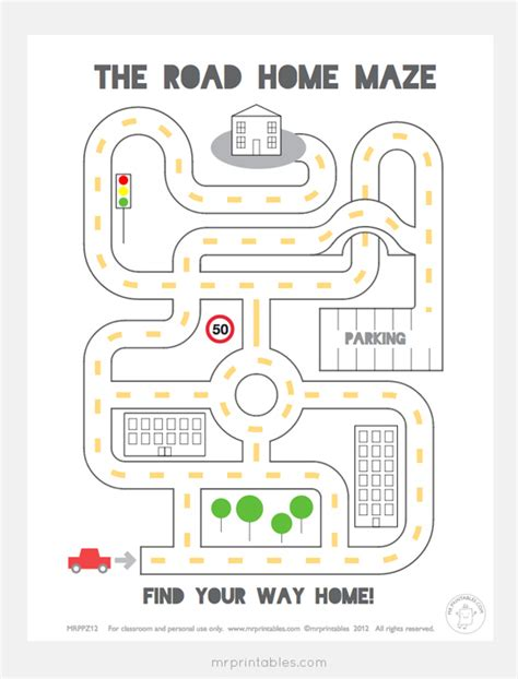 free printables printable mazes mr printables