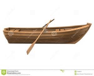 wood boat isolated on white royalty free stock image image 12538016
