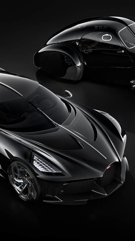 wallpaper bugatti la voiture noire geneva motor show