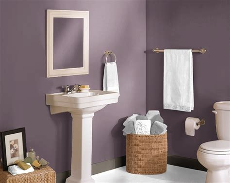 plum colored bathrooms bathroom in expressive plum bathroom re do pinterest
