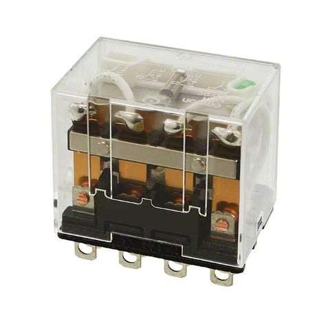 Relay Omron Ly4n ly4n dc24 omron automation and safety relays digikey