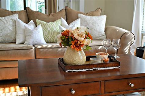 Tray decor for fall coffee table livinator