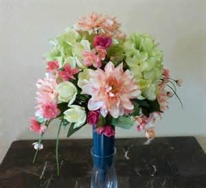 cemetery vase arrangement funeral flowers by
