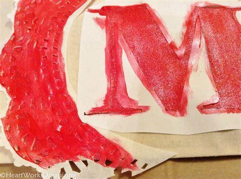 handmade monogrammed tote bag gift idea