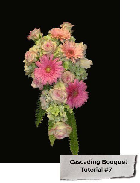 wedding bouquet keeping fresh cascading wedding bouquets diy bridal bouquet tutorials