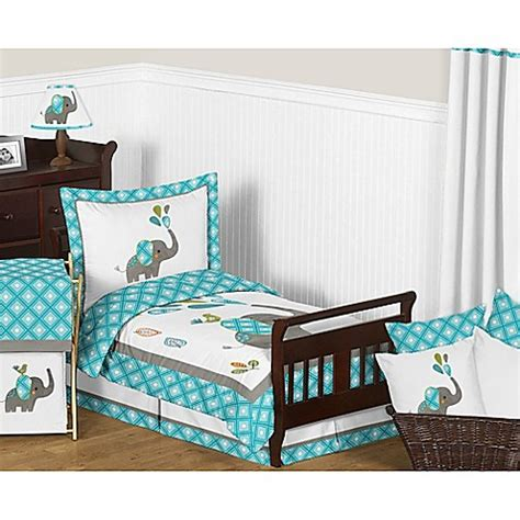 sweet jojo toddler bedding sweet jojo designs mod elephant toddler bedding collection