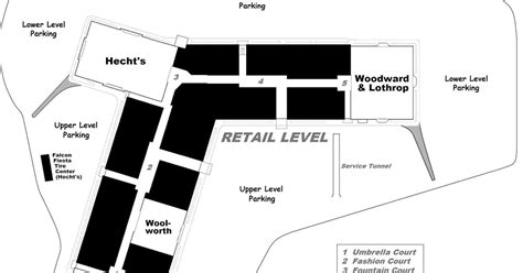 layout of yorktown mall mall hall of fame