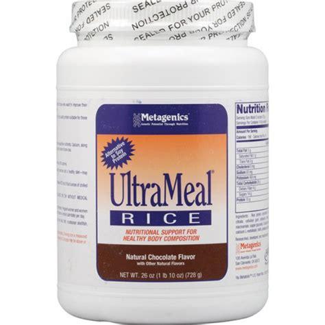 Metagenics Protein Powder Detox by Metagenics Ultrameal Rice Chocolate 26 Oz