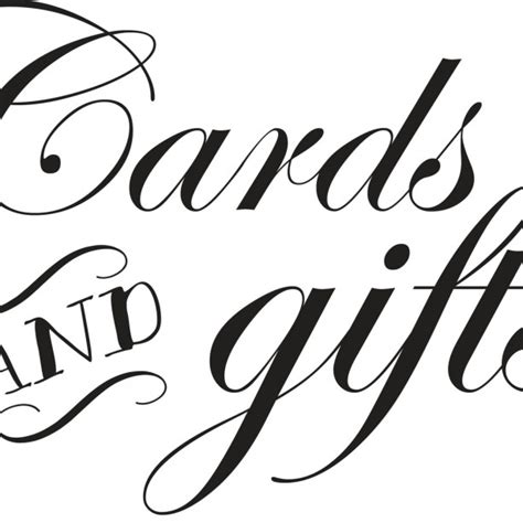 Card And Gift Table Sign - cards and gifts 8x10 wedding sign aftcra