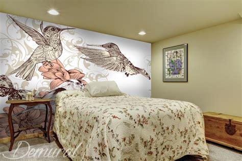 papier peint chevaux pour chambre comme un oiseau multicolore papier peint pour le