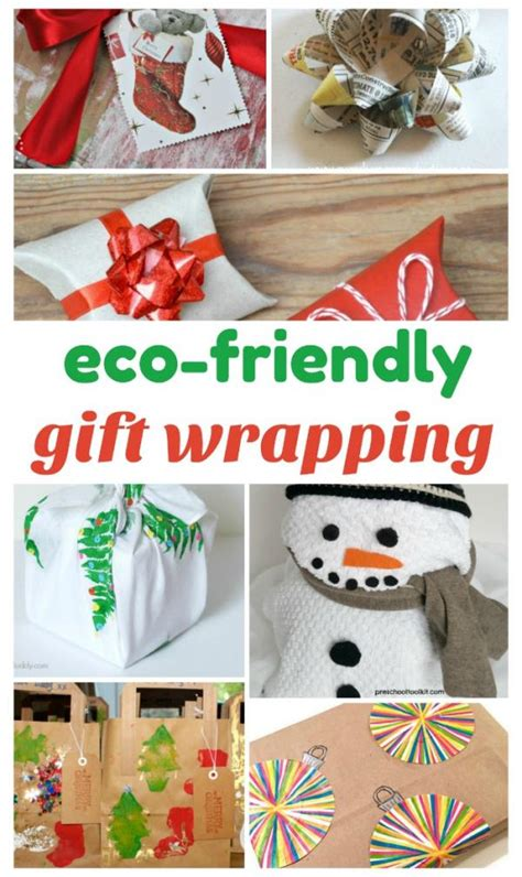 alternatives to gift giving at christmas eco friendly gift wrapping alternatives 187 preschool toolkit