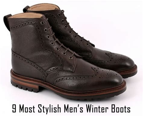stylish mens winter boots 9 most stylish s winter boots refined