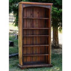 Rustic Wood Bookshelves Country Roads Reclaimed Wood Bookcase By Idaho Wood Shop