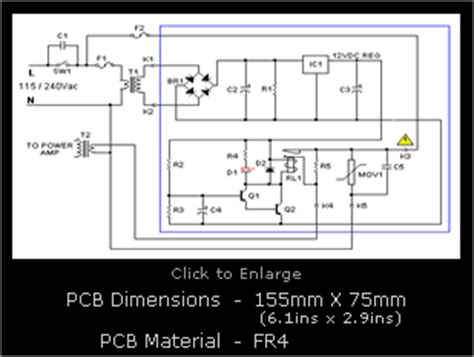 transformer current limiting resistor inrush current limiter audio kits by slab