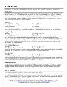 sample resume of nanny in canada costa sol real estate