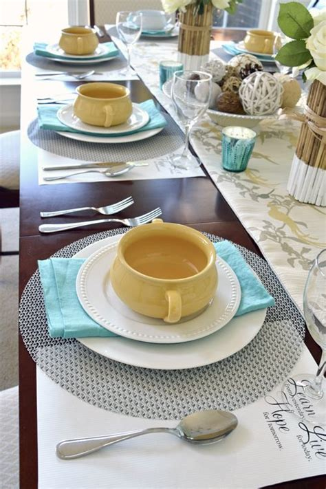 casual table setting best 25 casual table settings ideas on pinterest