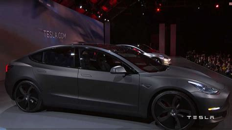 tesla model 3 release date news and features