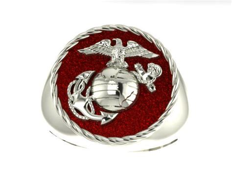 pin by steve hosie on marine corps rings and jewelry