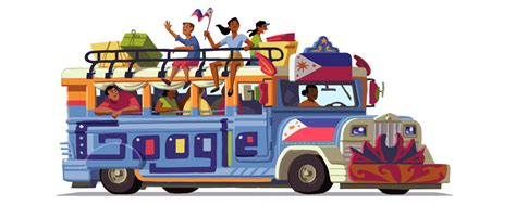 jeepney philippines drawing philippines independence day 2016
