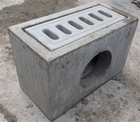 precast compressed slab concrete grating catch pit