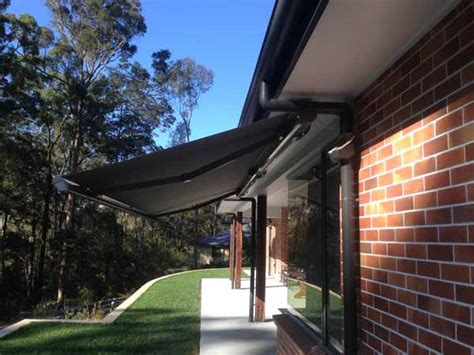 retractable awnings gold coast retractable folding arm awnings gold coast
