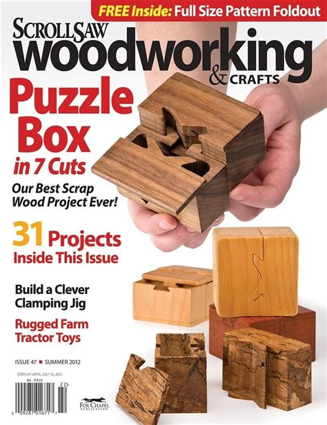 woodworking magazines free diy puzzle lock box woodworking projects plans new