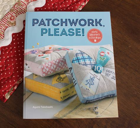 Patchwork Book - patchwork sew along the polka dot cafe apron