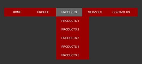 cara membuat menu dropdown html css membuat dropdown menu sederhana menggunakan html dan css
