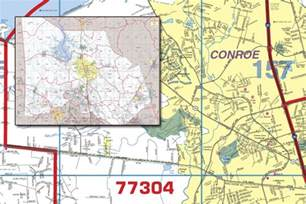 Montgomery County Zip Code Map by Montgomery County Wall Map With Zip Codes