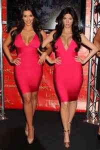 kim kardashian and every celebrity looked like a couch kim kardashian at madame tussauds and her wax figure 01