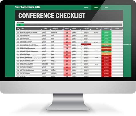 conference template 1000 images about excel templates on monthly