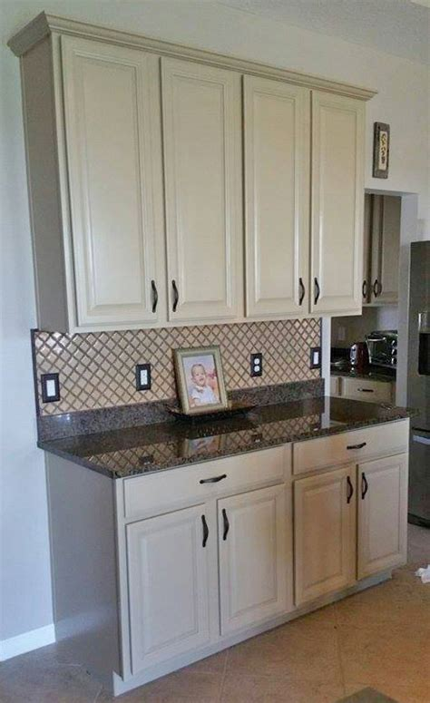 white gel paint for cabinets kitchen makeover in millstone milk paint general