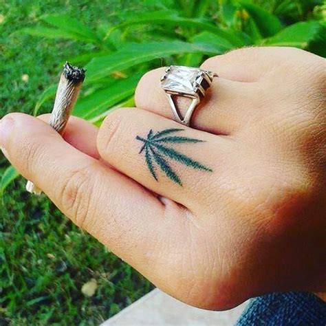 best 25 weed tattoo ideas on pinterest