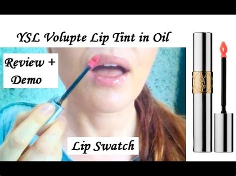 Ysl Volupte Lip Tint In No5 ysl volupt 233 lip tint in review demo lip swatch in no 2 oh my gold