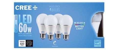 led light bulbs cree getting to cree led lightbulbs geekdad