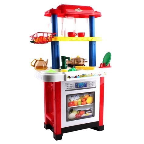Cook Happy Kitchen Playset 889 39 deao toys happy chef play set play kitchen accessories on onbuy