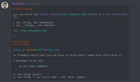 Discord Text Color | markdown text 101 chat formatting bold italic