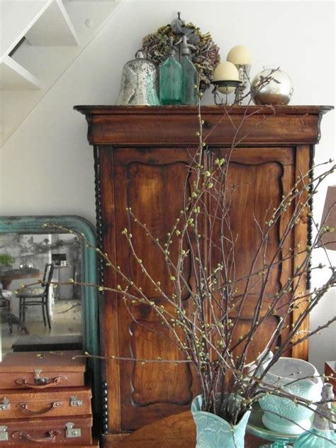 rustic vintage home decor 25 best ideas about armoire decorating on pinterest