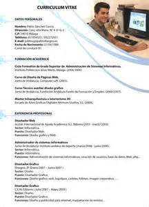 Plantillas De Curriculum Diseño Formato De Solicitudes Formatos De Curriculum Newhairstylesformen2014