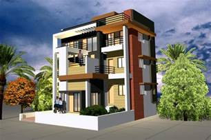 Free house front elevation home interior and exterior indian free 3d