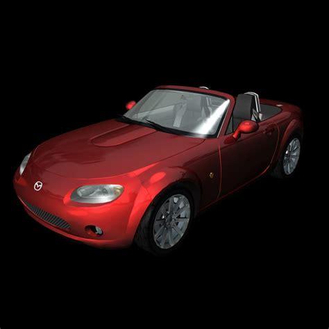 mazda sports car models 3d model sports car mazda